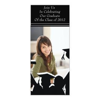 "Graduation Class of 2012 4"" X 9.25"" Invitation Card"