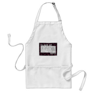 Graduation - Class Of 2012 - Pink and Black Standard Apron