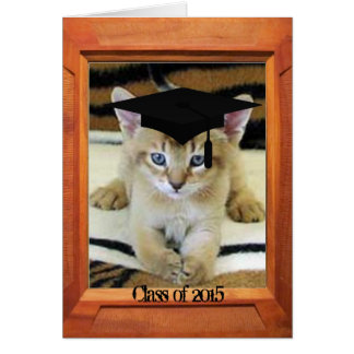 Graduation class of 2015 greeting card