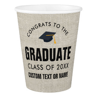 Graduation Class of 2018 Congrats Grad Party Paper Cup