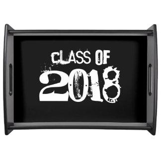 Graduation Class of 2018 serving tray