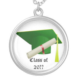 Graduation Class of 20?? Green Necklace