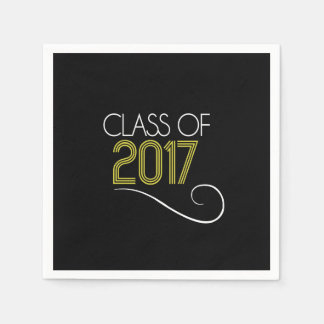 Graduation Cocktail Napkins - 2017 Paper Napkin