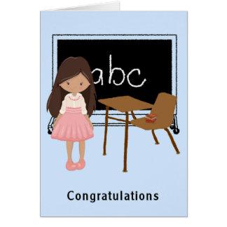 Graduation Congratulations Card from Kindergarten.