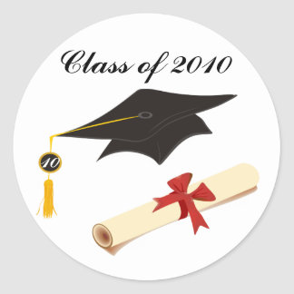 Graduation Congratulations Classic Round Sticker