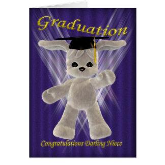 Graduation Congratulations Darling Niece Card