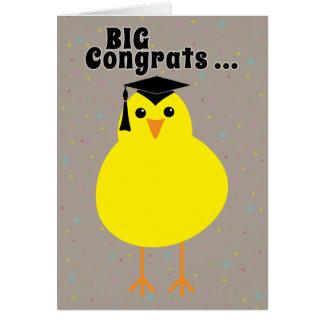 Graduation Congratulations to One Smart Chick Card