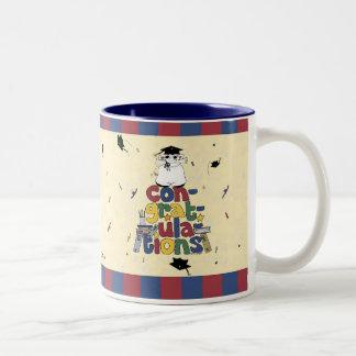 Graduation - Congratulations Two-Tone Coffee Mug