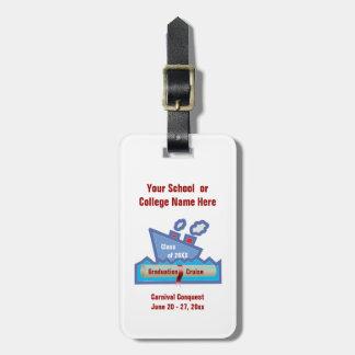 Graduation Cruise Personalized Luggage Tag