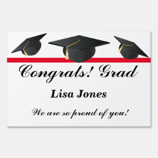 Graduation Custom Party Yard Sign