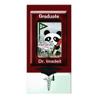 Graduation Customized Photo Card
