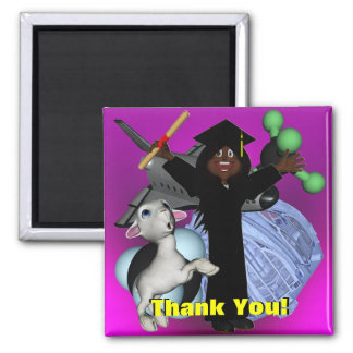 Graduation Day Thank You Magnet