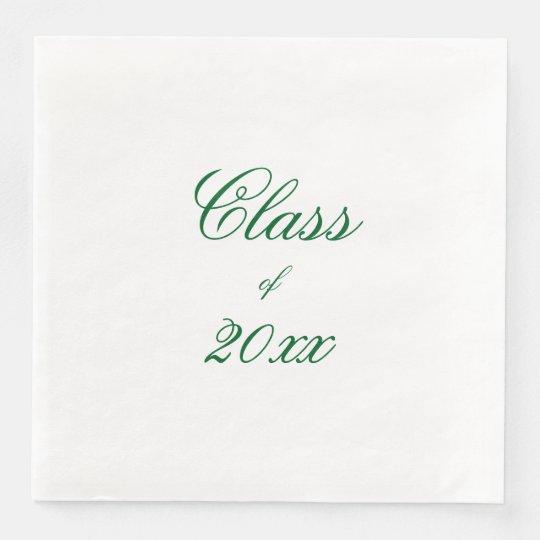 Graduation Disposable Napkins