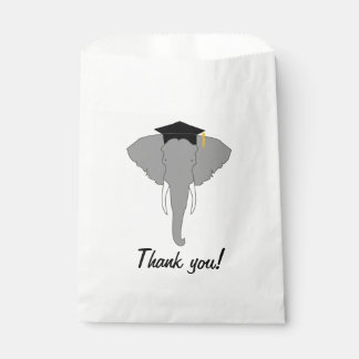 Graduation Elephant Favour Bag