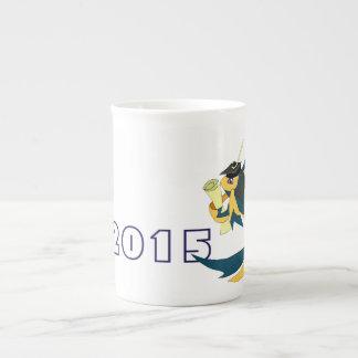 Graduation Fish Bone China Mug