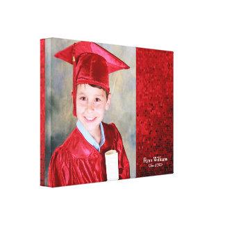 Graduation Grad Graduate memento gift Canvas Print