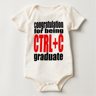 graduation graduate cope school teenager homework baby bodysuit