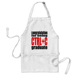 graduation graduate cope school teenager homework standard apron