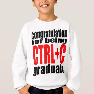 graduation graduate cope school teenager homework sweatshirt