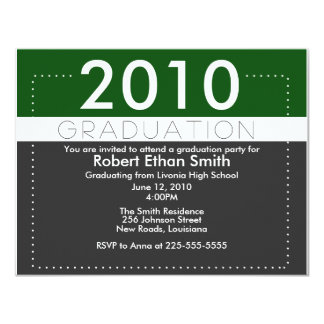Graduation Personalized Announcements