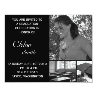 Graduation Invitations Cheap Customizable Photo