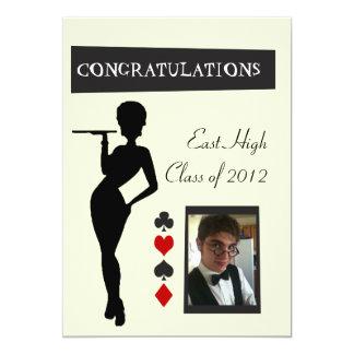 """Graduation Invitiation 5"""" X 7"""" Invitation Card"""