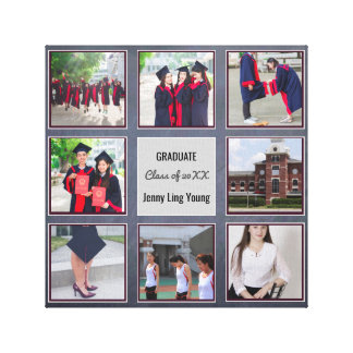 GRADUATION keepsake ADD PHOTOS Wall Art Chalkboard