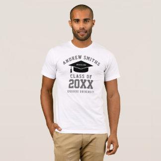 graduation medicine (custom profession) white T-Shirt
