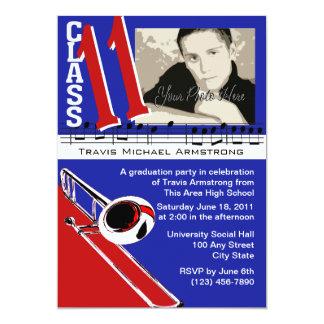 Graduation Music/ Trombone Card