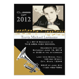 Graduation Music/ Trumpet Card
