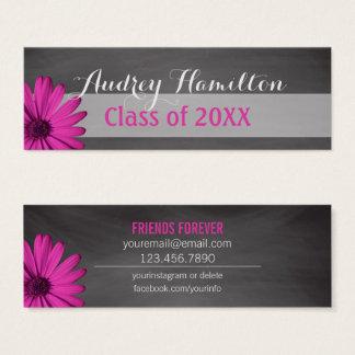 Graduation Name Card   Senior Class Insert Daisy