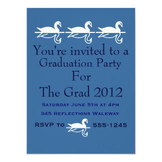 "Graduation Party 6.5"" X 8.75"" Invitation Card"
