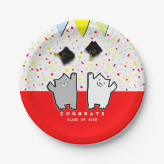 Graduation Party 7 Inch Paper Plate