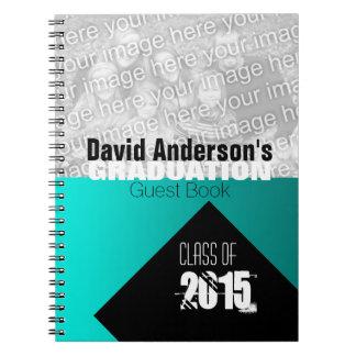 Graduation Party Class of 2016 Custom Guest Book 1 Spiral Notebook