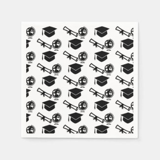 Graduation Party Graduation Diploma and Tassel Paper Napkin