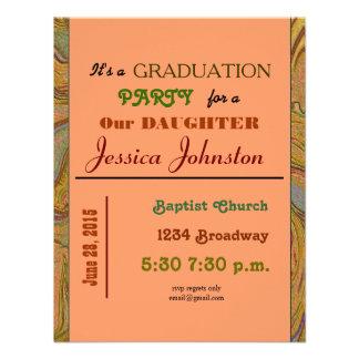 graduation party custom invite