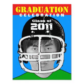 Graduation Party Invitation Athlete Photo Insert 1
