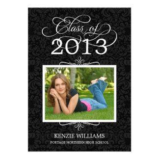 Graduation Party Invitation Classy Grad