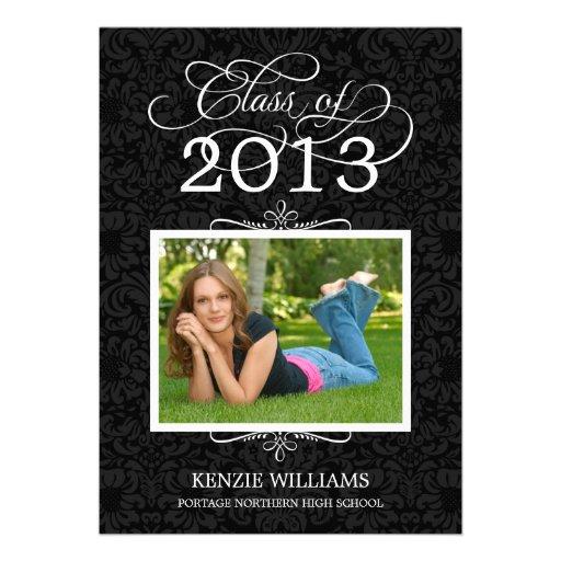 Graduation Party Invitation | Classy Grad