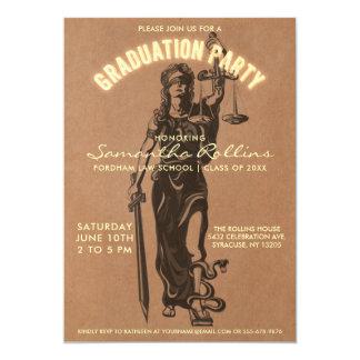 Graduation Party Invitations   Lady Justice