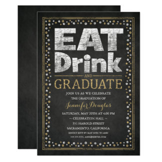 Graduation Party Invitations Unique Funny Grad