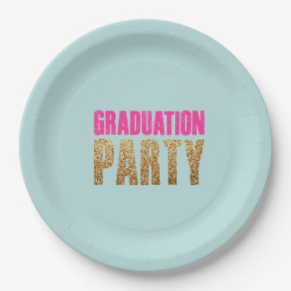 GRADUATION PARTY Party Plate 9 Inch Paper Plate
