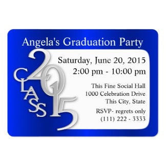 Graduation Party Photo Insert Card Business Cards
