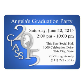 Graduation Party Photo Insert Card Business Card Templates