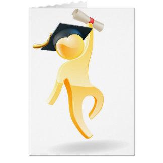 Graduation person greeting card