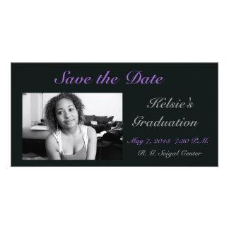 Graduation Personalized Photo Card