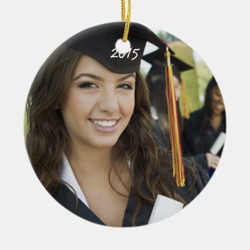 Graduation Photo Christmas Ornaments