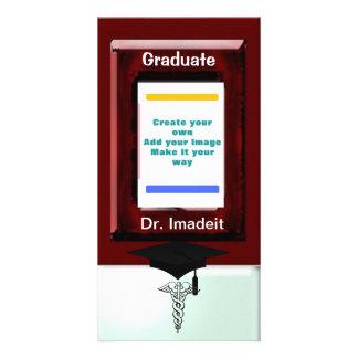 Graduation Photo Greeting Card