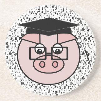 Graduation Pig Coaster