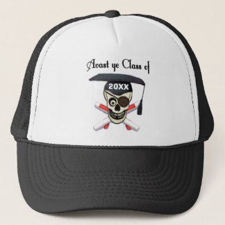 Graduation Pirate Custom Year Hat
